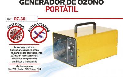 Desinfección de instalaciones por Ozono: máxima Seguridad y Protección anti-COVID-19